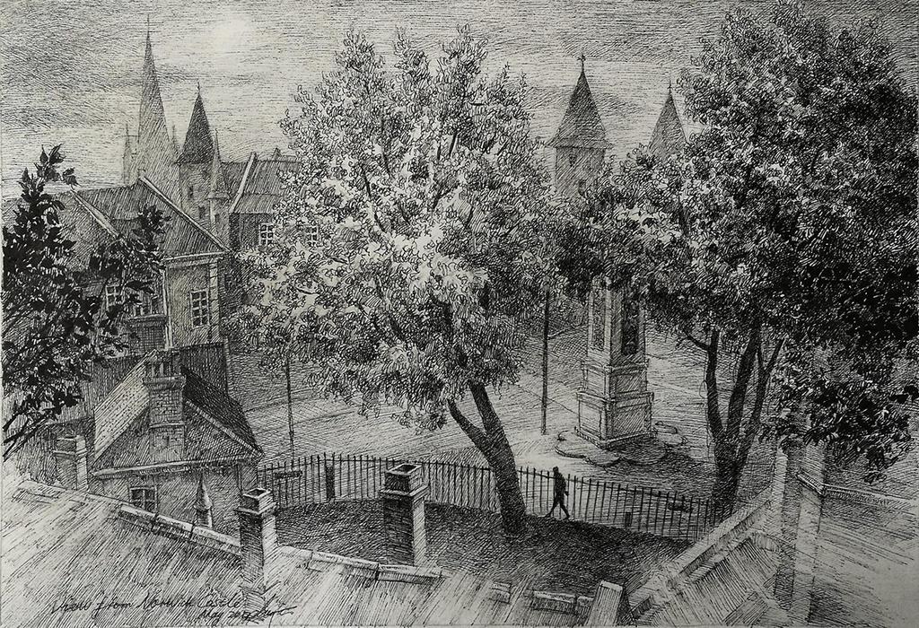 Castle View Norwich by LotharZhou