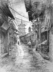 Ciqikou Chongqing by LotharZhou