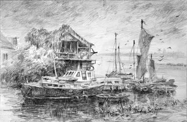 Norfolk Coast by LotharZhou