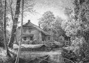 Giethoorn by LotharZhou