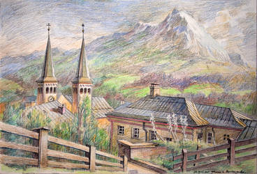 Berchtesgaden Alps by LotharZhou