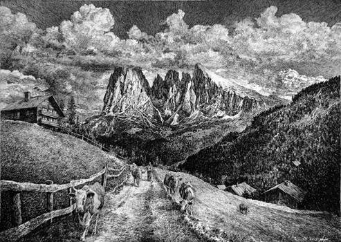 Langkofel Dolomites