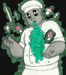Ghost (Drawlloween #1) by Xenobody