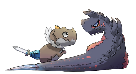 Sword Tail dinos