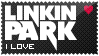 Linkin Park black stamp by kvebek