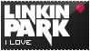 Linkin Park black stamp by kvebek