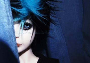 vynn. blue is LOVE. by chelx