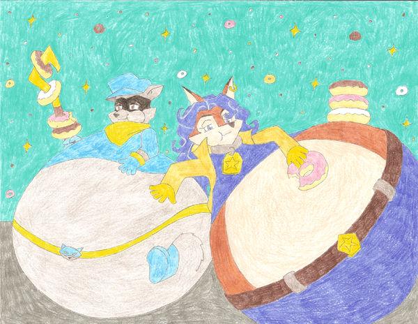Sly + Carmelita's Donut Dream