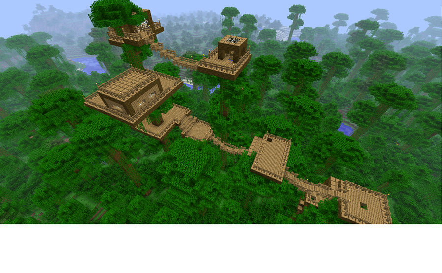 Jungle House In Minecraft By Phathat On Deviantart