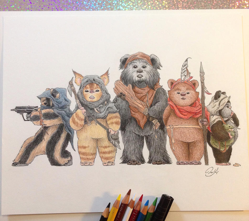 Squad Goals by SoooThisIsArt----Wow