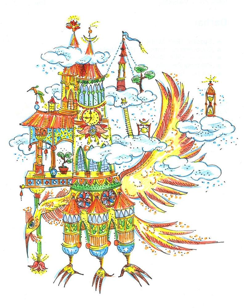 tower fantasy by moriganu