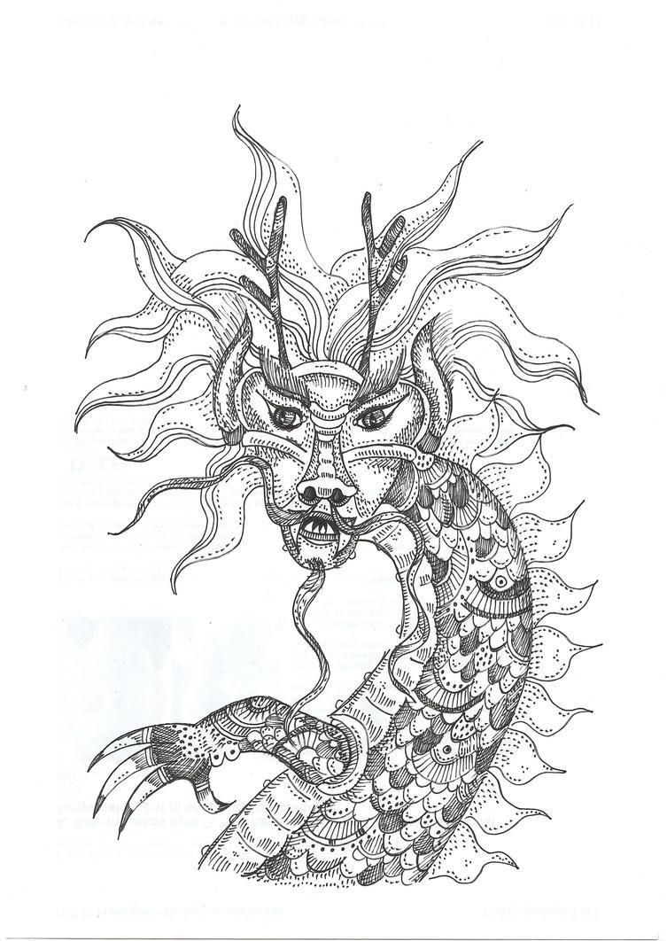 Dragon by moriganu
