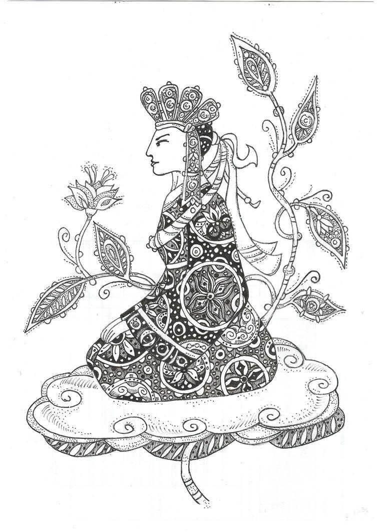 Lhamo by moriganu
