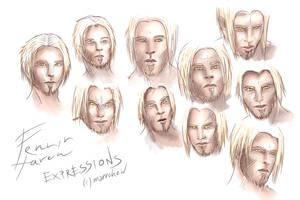 12 Fenrir Expressions Sheet
