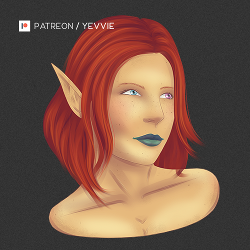 Reeva Portrait [Varyel] by yevvie