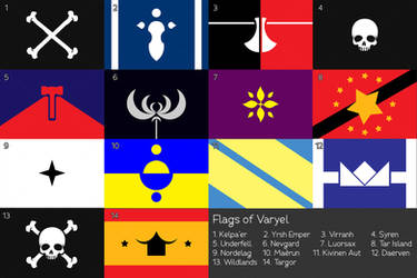 Flags of Varyel [Flag Maker] by yevvie