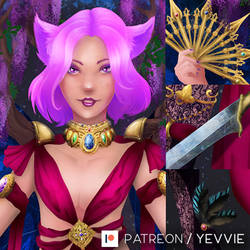Vistheria, the King of Fae [Varyel][Preview] by yevvie