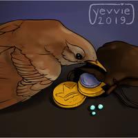 02-09 Common Nightingale by yevvie