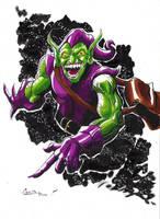 green goblin by camillo1988