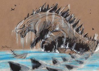 Godzilla by camillo1988