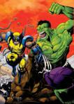 Wolverine hulk 181