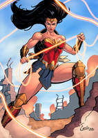 wonder woman by camillo1988