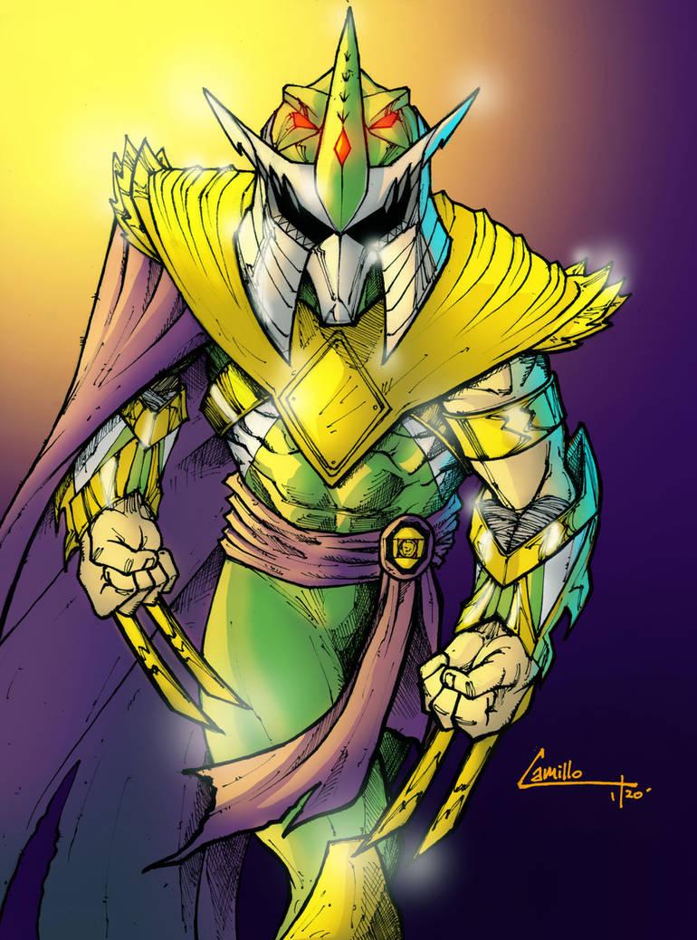 green ranger shredder