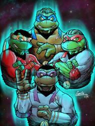 star trek ninja turtles