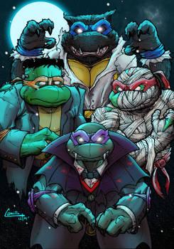 universal monsters ninja turtles