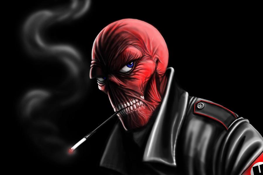 Red Skull by Deviator77