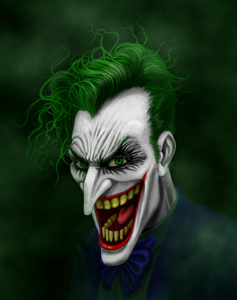 Joker Portrait by Deviator77
