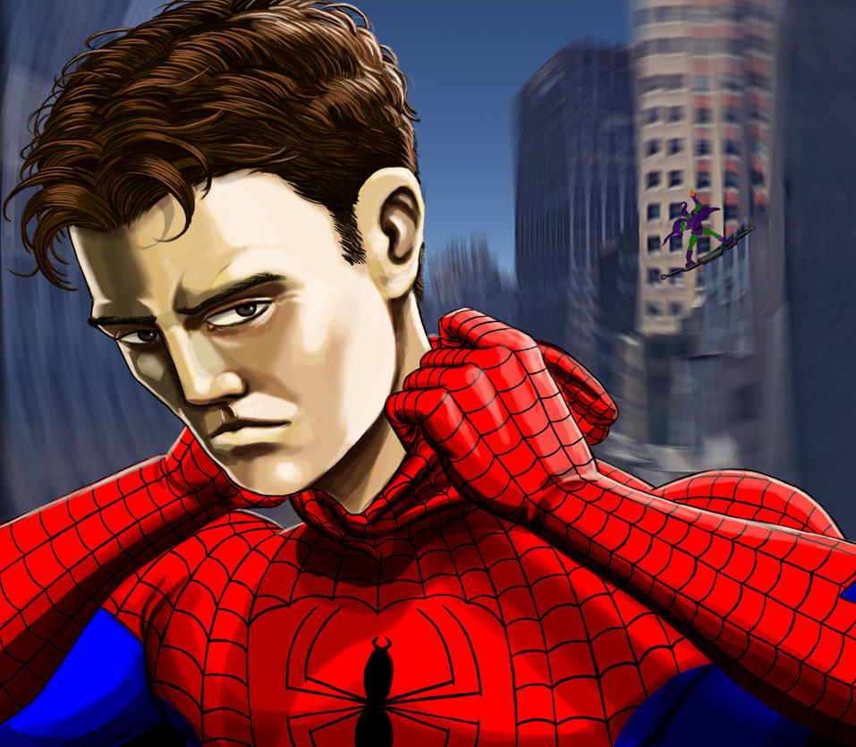 Peter Parker - The Amazing Spider-Man by Deviator77