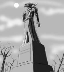 Tiberius Statue by Deviator77