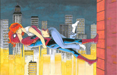 Spidey and MJ color