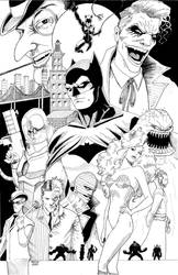 Batman and Rogues