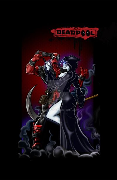 Deadpool And Lady Death DEADPOOL by Dee9922 on...