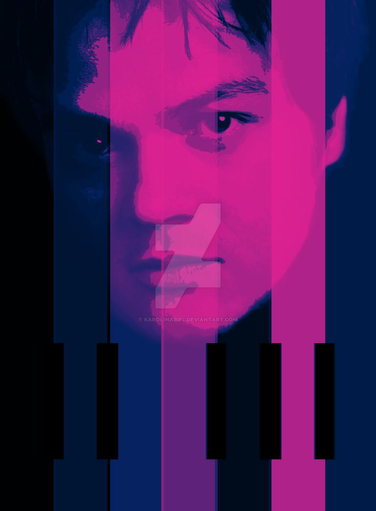 Jamie Cullum - Piano Poster by KarolinaBiel