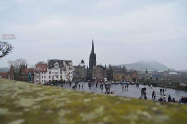 Edinburgh Castle by KarolinaBiel