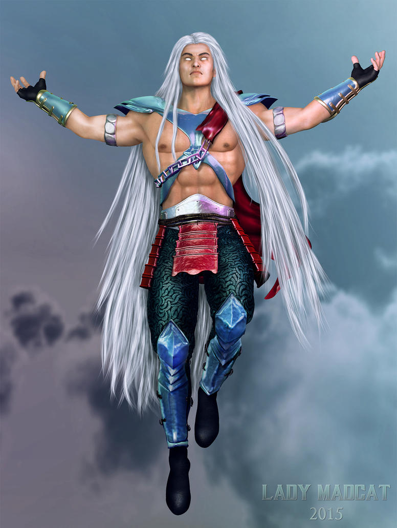 Fujin redesign by MadCat by ladymadcat on DeviantArt