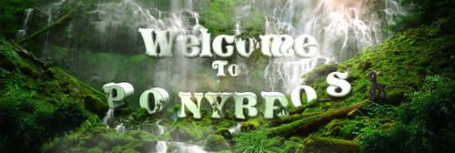 Ponybros Welcome banner by Rain-Gear