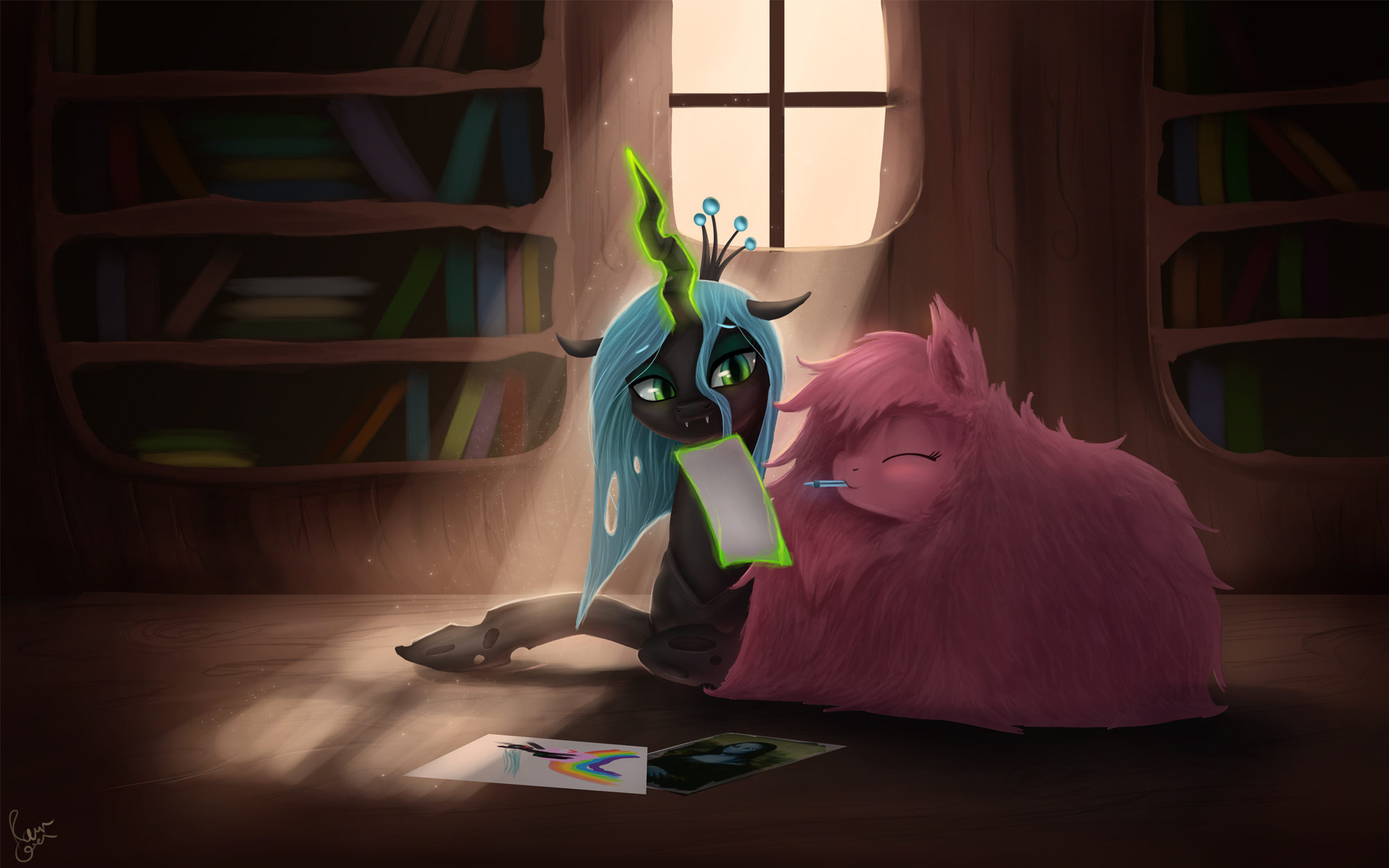 Let's Draw by Rain-Gear