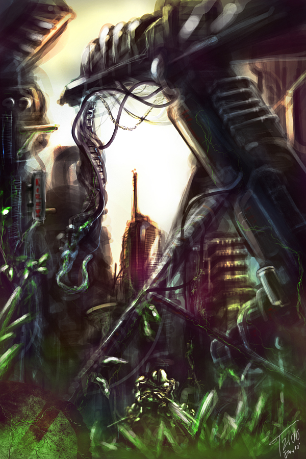 Tiberium Jungle by t2100ex9