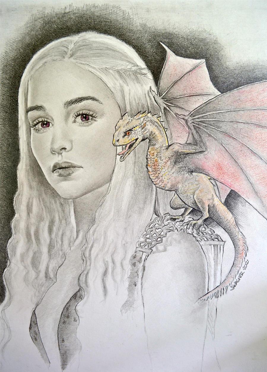 Daenerys by joniwagnerart