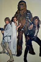 Star Wars by joniwagnerart