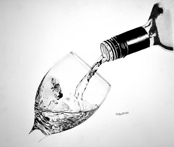 Chardonnay by joniwagnerart