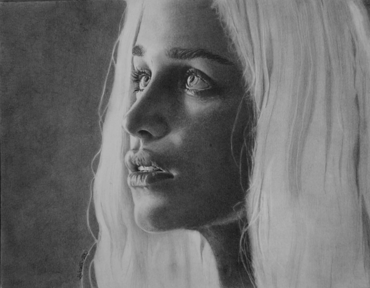 Close Up of Dany by joniwagnerart