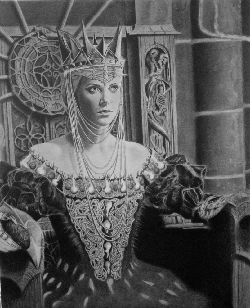 Queen 2 by joniwagnerart
