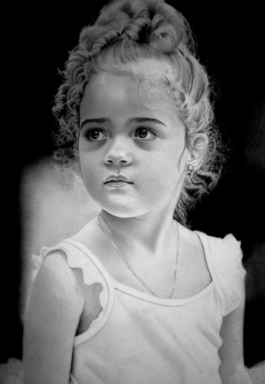 My Little Girl by joniwagnerart