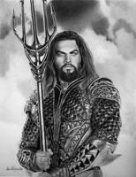 Aquaman (a.k.a. the Hawaiian Jesus) by joniwagnerart