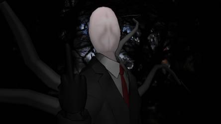 Slender Man #1 by ShadowGlobe